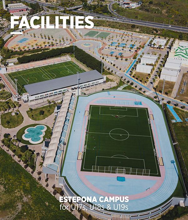 Football training facilities Estepona